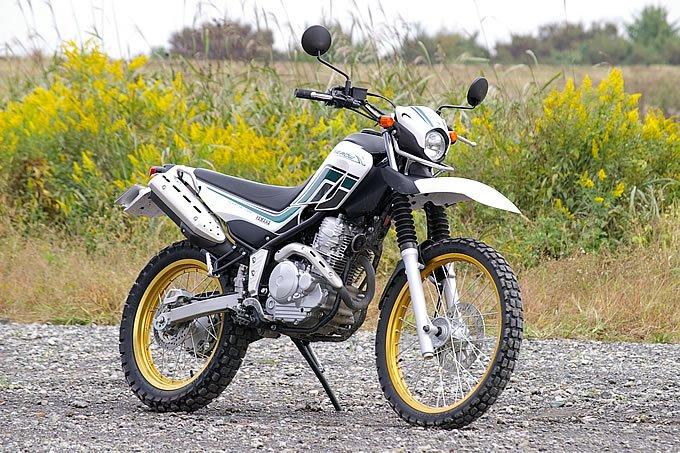バイクのタイプ:トレールバイク