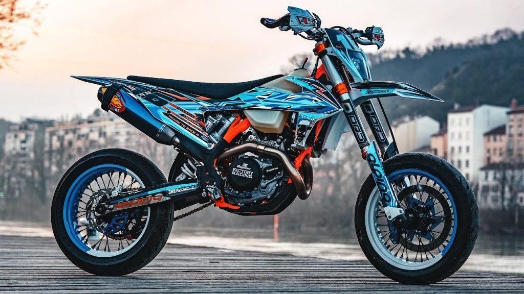 バイクのタイプ:スーパーモタード